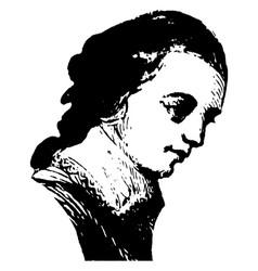 arthur middleton vintage vector image vector image