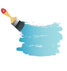 brush back vector image