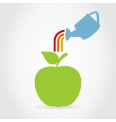Apple7 vector image vector image