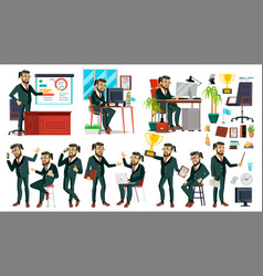 boss ceo character ceo managing director vector image