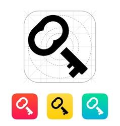 Case key icon vector image