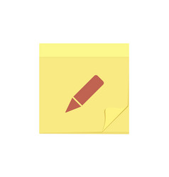 comment edit message note task icon vector image
