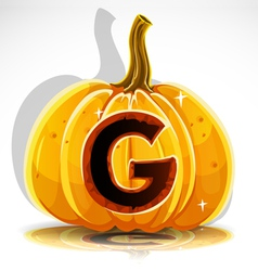 Halloween Pumpkin G vector
