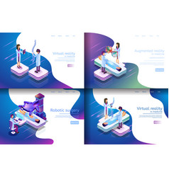 Isometric virtual medical research vector