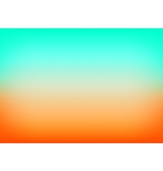 Orange Blue Gradient Background vector image