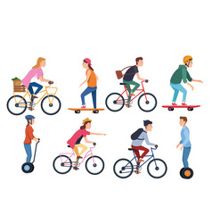 Sport outdoor sportive activity cartoon vector