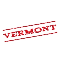Vermont Watermark Stamp vector image