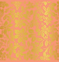 vintage floral texture vector image