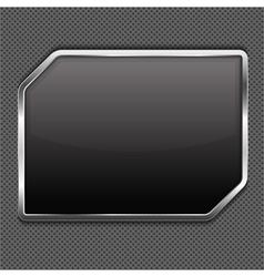 Metal Frame vector image vector image