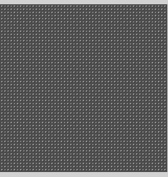 abstract dark gray background with dots vector image
