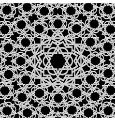 Arabic geometric pattern vector