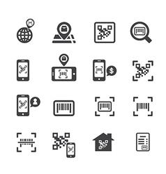 Check code icon vector