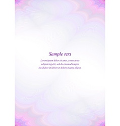 Purple page template design vector