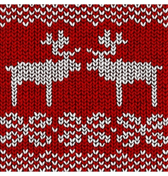Reindeer Jumper vector