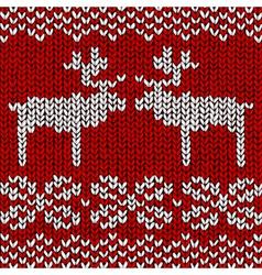 Reindeer Jumper vector image vector image
