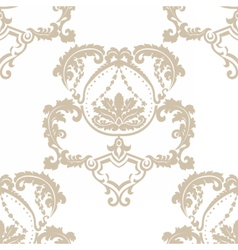 Royal ornament pattern vector