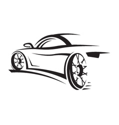 car image vector image