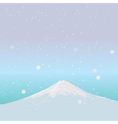 Fujiyama Landmark of JAPAN vector image