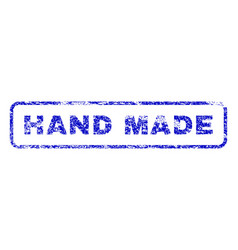 hand made rubber stamp vector image vector image