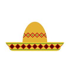 beach hat vector image vector image