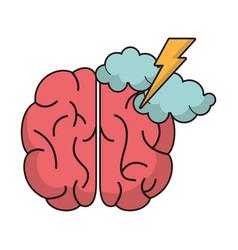 Brain idea brianstorm innovation vector