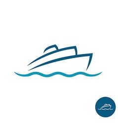 Ship logo vector image