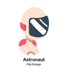 Astronaut flat vector