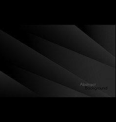 dark background abstract black layers modern vector image