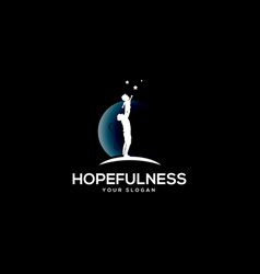 hopefulness vector image