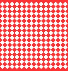 red geometric art pattern vector image