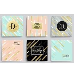Set of elegant banner templates vector image