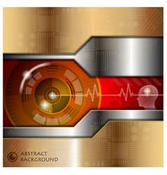 Technology Eyeball Thinking Abstract Background vector