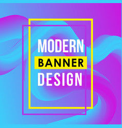 trendy abstract geometric background with vector image