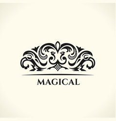 vintage decorative elements flourishes vector image