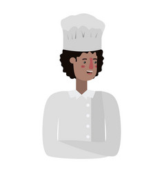 young man cook avatar character vector image