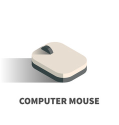 computer mouse icon symbol vector image