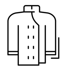 Cooker clothes icon outline style vector