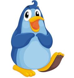 Cool penguin vector