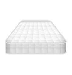 Eco mattress icon realistic style vector