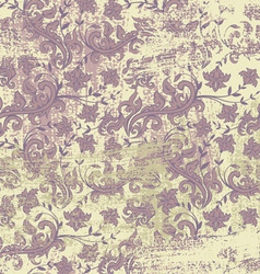 Floral grunge background vector