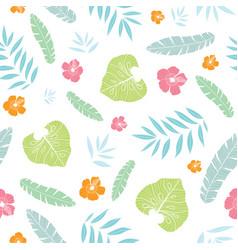 Fun tropical summer hawaiian seamless vector