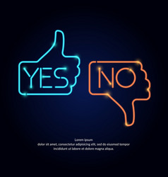 Hand voting with yes vector