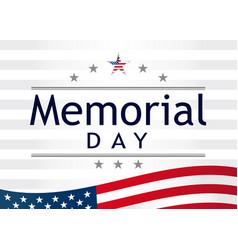 Memorial day light stripes vector