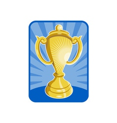 Trophy championship cup vector