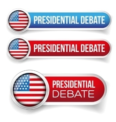 USA Presidential debate vector