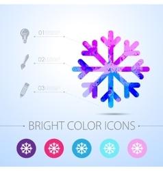 Watercolor icon vector