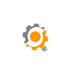 gear solution vector image