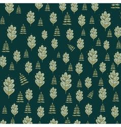 Floral background floral design leaf pattern vector image vector image