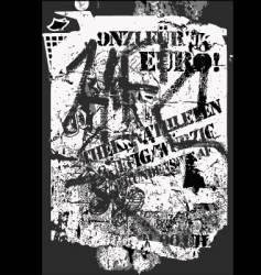 grunge graffiti vector image vector image