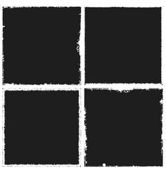 dark frame set vector image vector image